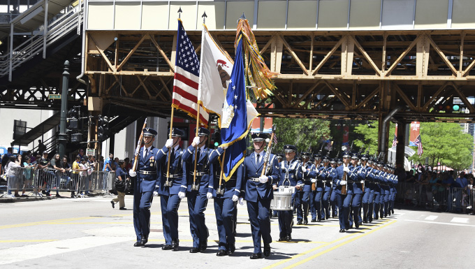 Air Force Band, Honor Guard perform in Memorial Day events across country
