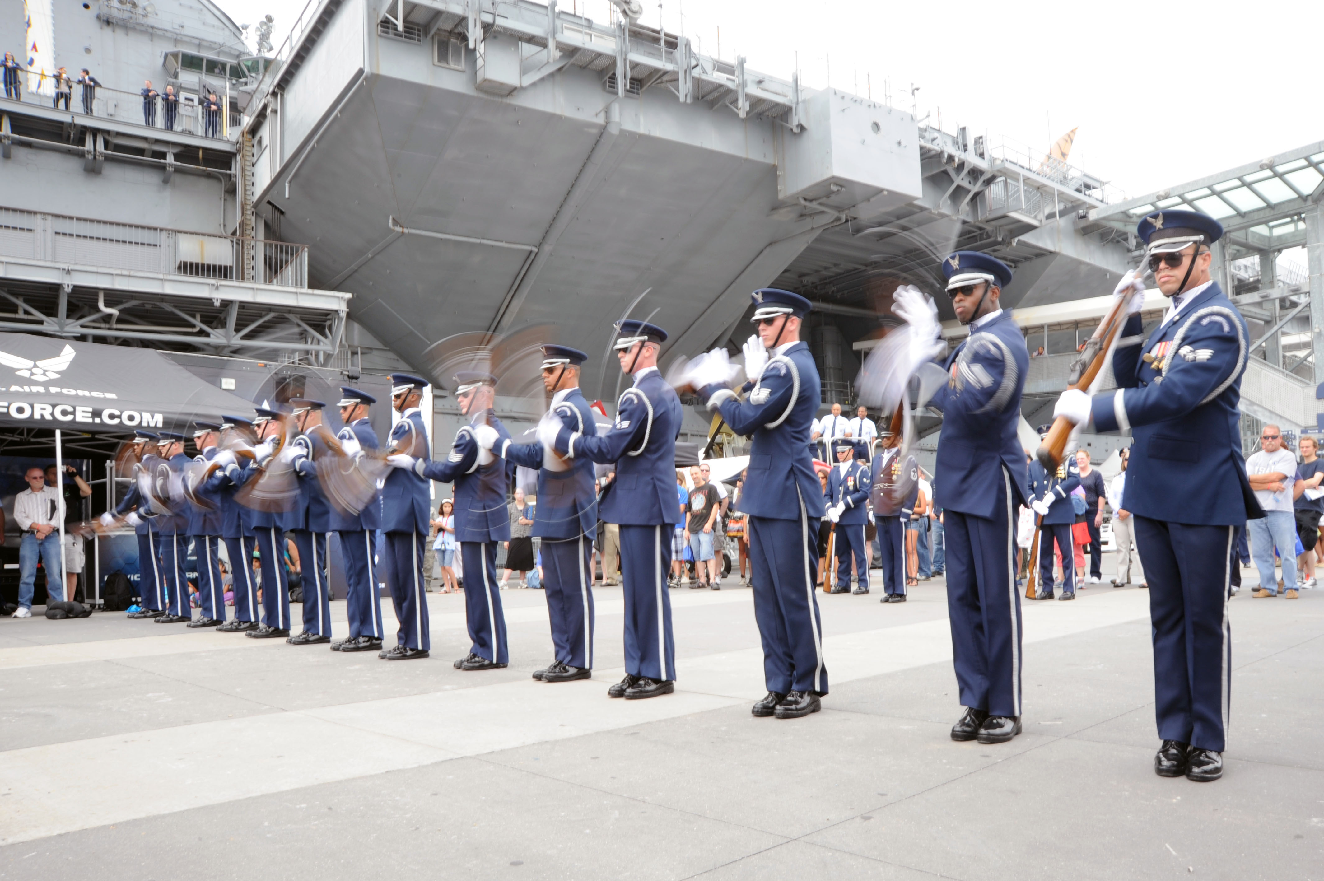 U.S. Air Force Drill Team Recruiting Video